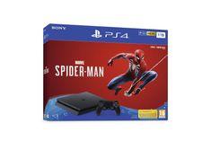 Sony igralna konzola PlayStation 4 + Marvel's Spider-Man, 1 TB, črna