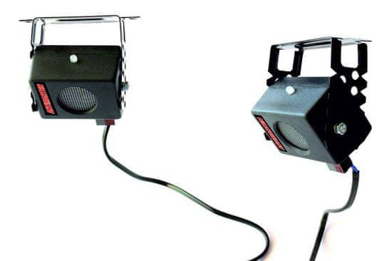 MAMMOOTH Ultrazvukový plašič hlodavcov pre montáž v podkroví, v dome, v garáži, 230 V; počet zariadení: 2 ks, počet reproduktorov: 2 ks