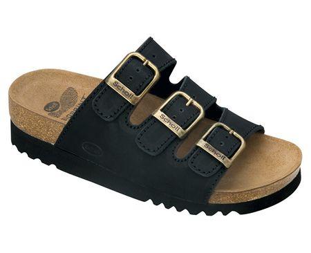 Scholl Zdravotná obuv RIO AD - čierna (Veľkosť vel. 37)