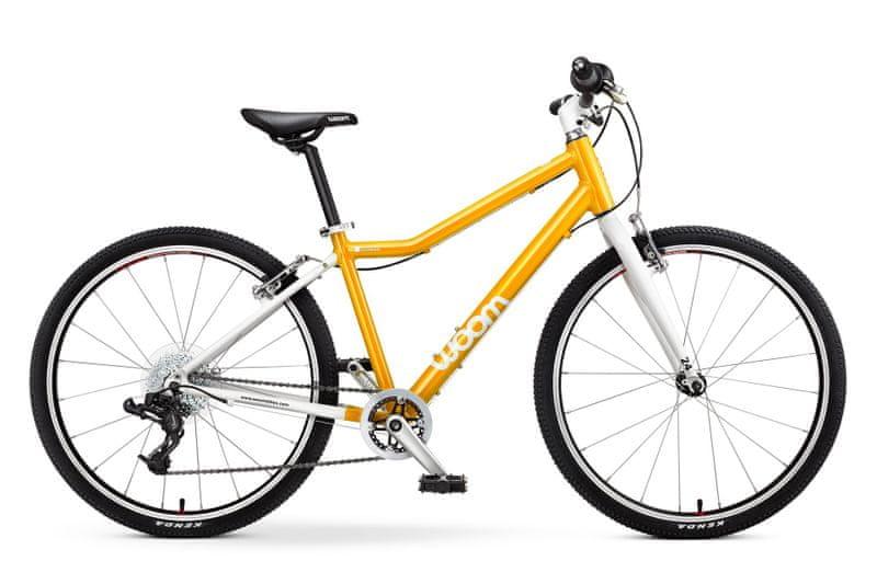 """Woom 5 Yellow 24"""" dětské kolo"""