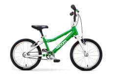 "Woom  3 Green 16"" dětské kolo,"