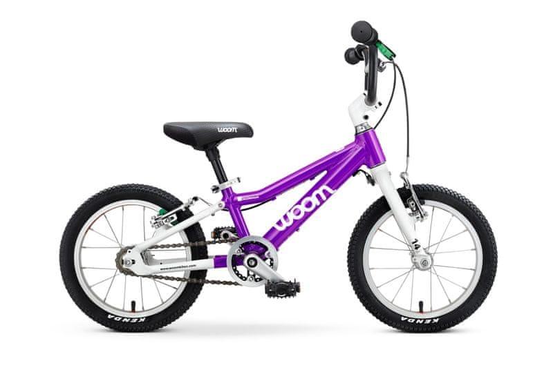 """Woom 2 Purple 14"""" dětské kolo"""
