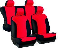 Harmony prevleke za sedeže Urban, rdeče-črne