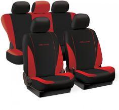 Harmony prevleke za sedeže Deluxe Spring, rdeče-črne