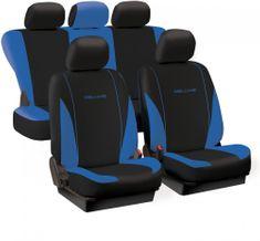 Harmony prevleke za sedeže Deluxe Spring, modro-črne