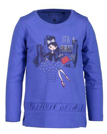 Blue Seven koszulka dziewczęca 92 niebieska