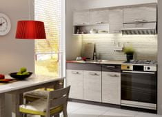 Kuchyně MOORENO 120/180 cm, dub picard/lava
