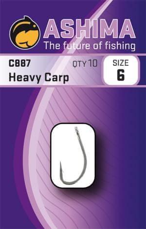 Ashima Háčky C887 Heavy Carp (10ks) 6