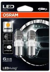 Osram Žárovka typ PY21W, 12V, 2W, LEDriving oranžová