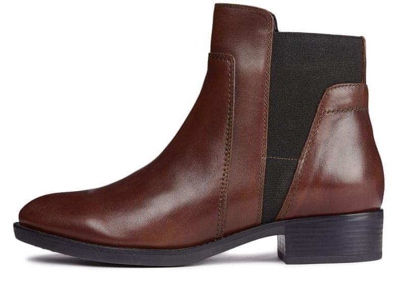 bd61d284383 Geox dámská kotníčková obuv Felicity 36 hnědá