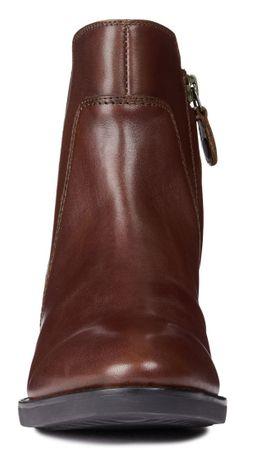 Geox dámská kotníčková obuv Felicity 41 hnědá  b4a9bc423e