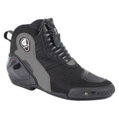 Dainese kotníkové moto boty  DYNO D1 vel.42 černá/antracit, kůže (pár)