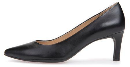 Geox ženske cipele na petu Bibbiana, 41, crne