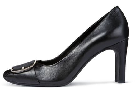 Geox ženski čevlji s peto Vivyanne High, 36, črni