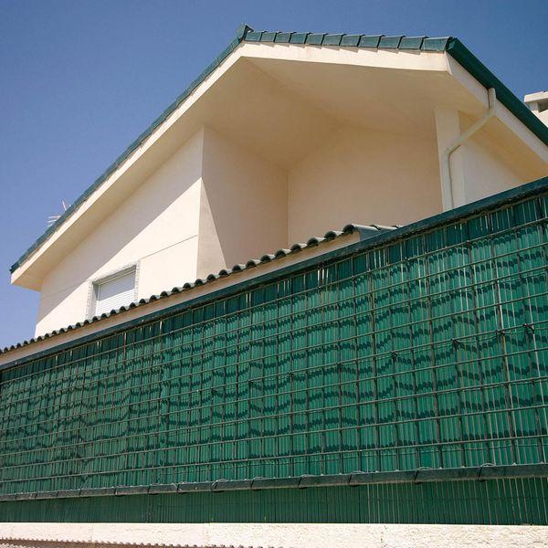 TENAX SPA Umělý rákos NILO PLUS 2 m x 5 m - zelená barva