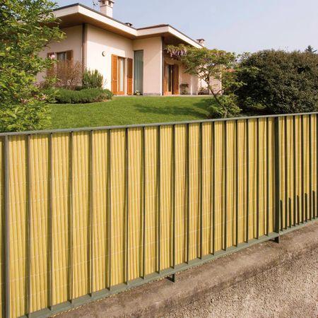 TENAX SPA Umělý rákos NILO PLUS 2 m x 5 m - přírodní barva