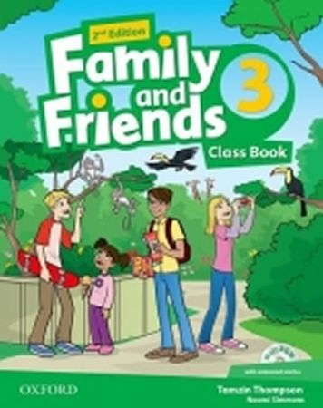 Simmons Naomi: Family and Friends 2nd Edition 3 Course Book with MultiROM Pack
