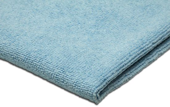 KAJA Utěrka z mikrovlákna, 60 x 50 cm, 240 g/m2, modrá, 5 ks v balení