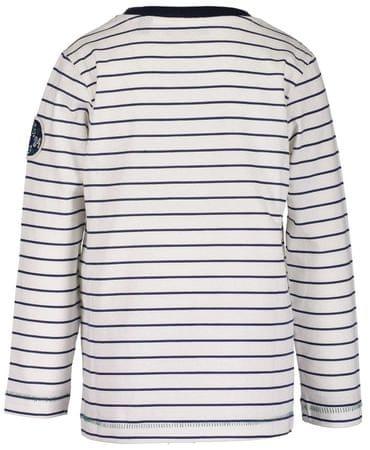 Blue Seven chlapecké pruhované tričko 92 bílá modrá  59cf765210