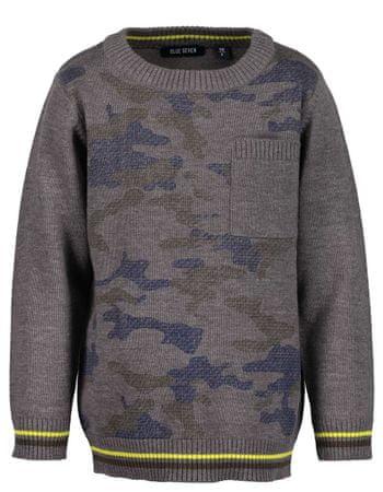 Blue Seven sweter chłopięcy, 92, szary