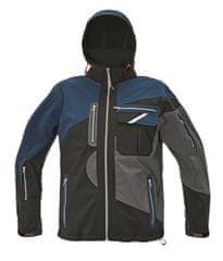 Assent Nepremokavá softshellová bunda Symmons čierna M