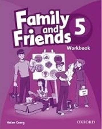 Casey Helen: Family and Friends 5 Workbook