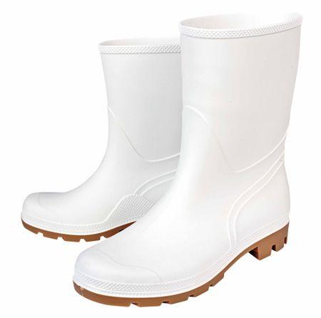 Boots Gumáky Troncheto  PVC nízke biela 43