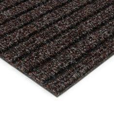 FLOMAT Hnědá kobercová vnitřní čistící zóna Shakira, FLOMAT - 1,6 cm