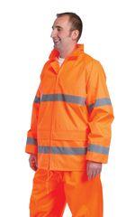 Cerva Reflexná pracovná bunda Gordon pánska oranžová XL