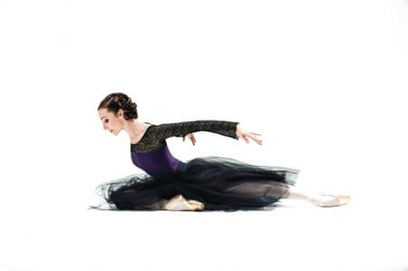 Ballet Rosa Baletný dres Scarlett, S, fialová