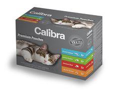 Calibra mokra hrana za mačke Multipack, 12x100 g