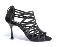 PortDance Tanečné topánky PD803/60, čierna, 7 cm
