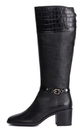 Geox ženski škornji Glynna, 36, črni