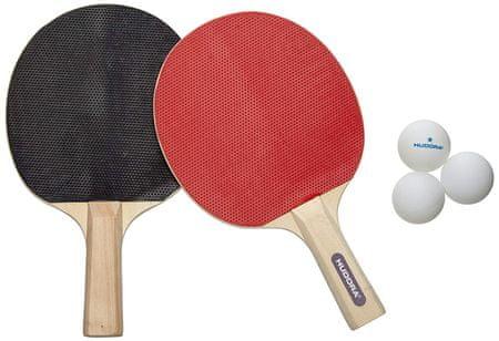 Hudora set loparjev za namizni tenis Match z žogicami