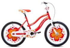 Amulet  Sunny 20 dívčí dětské kolo červené