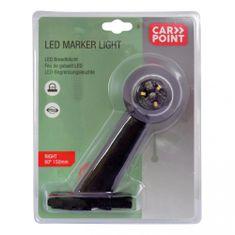 CarPoint Světlo poziční tykadlo LED červená/bílá 150mm pravé