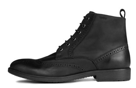 Geox pánská kotníčková obuv Jaylon 40 čierna