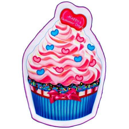 Svilanit brisača za na plažo iz mikrovlaken Cupcake