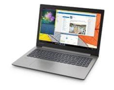 Lenovo prenosnik IdeaPad 330 N4000/4GB/SSD256GB/15,6HD/W10H, siv (81D100BWSC)