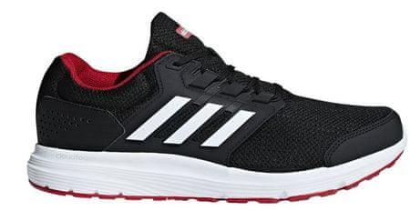 Adidas moški tekaški copati Galaxy 4 M Core Black Ftwr, 41,3