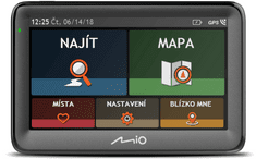 "MIO Pilot 5"", Full Europe, Lifetime"