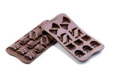 Silikomart Silikonová forma na čokoládu – modní přehlídka