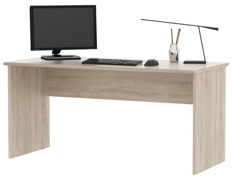 Kancelářský psací stůl SJH111 dub sonoma