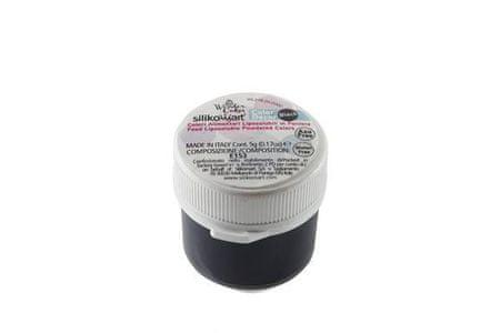 Silikomart Prachová barva do tuků 5g - černá