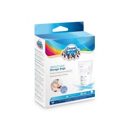 Canpol babies vrećice za čuvanje majčinog mlijeka, 20 komada