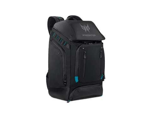 Acer nahrbtnik Predator, 43 cm (17''), črno/moder