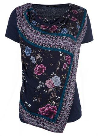 Desigual dámské tričko Vicent XS tmavo modrá  f6d9da72393