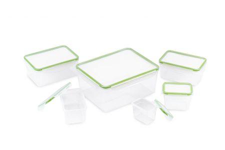 Rosmarino set plastičnih posod za shranjevanje živil, 12 kosov