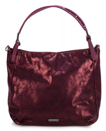 Tamaris ženska torbica borgonja Ashley