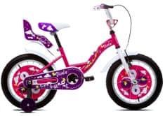 """Amulet  Viola 16"""" dívčí dětské kolo růžové"""